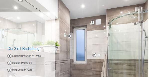 ideal für Ihr Bad, der inVENTer Twin mit +