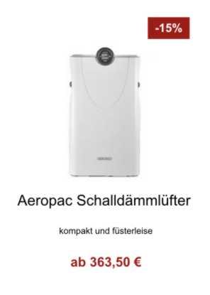 Aeropac Schalldämmlüfter