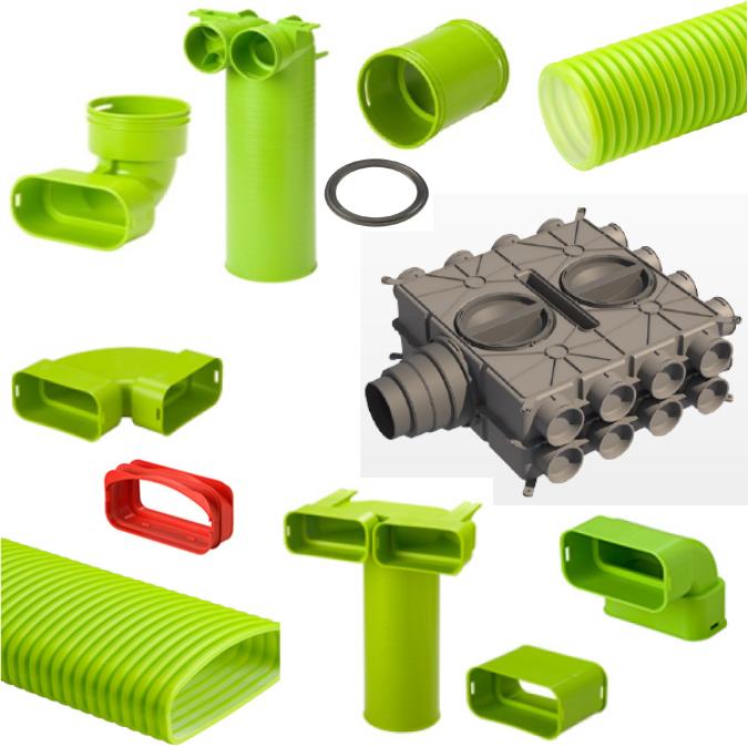 Kunststoff Verteilsystem