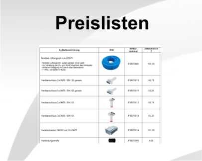 Preislisten Lüftung InovaTech