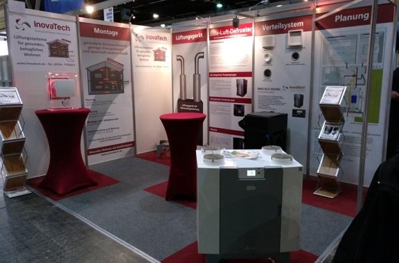 Messestand der InovaTech GmbH