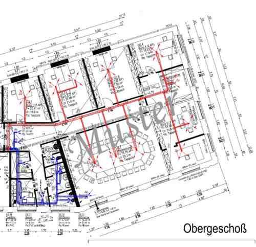 Planung Bürogeb OG
