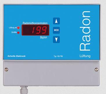 Steuerung Radonlüftung