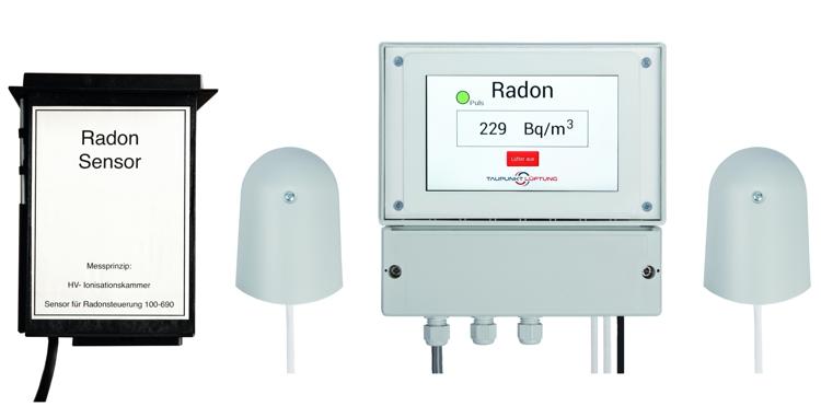 Steuerung zum Schutz vor Radon