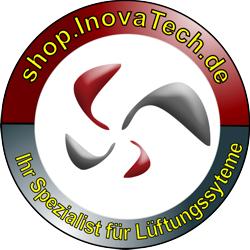 Lüftungswebshop der InovaTech gmbH