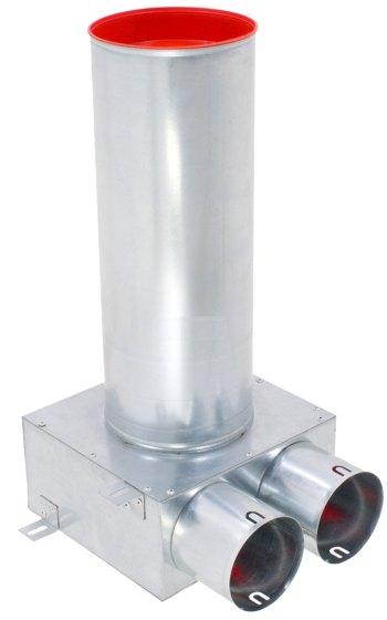 Ventilanschluss Metall