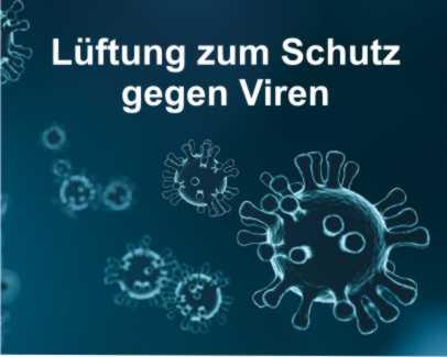 Lüftung zum Schutz gegen Corona Viren