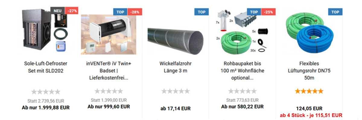 Webshop InovaTech GmbH