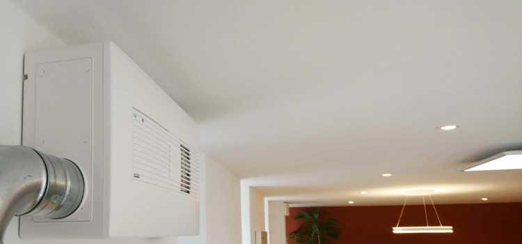 Lüfter für Apartments, kleine Büros und Hotels